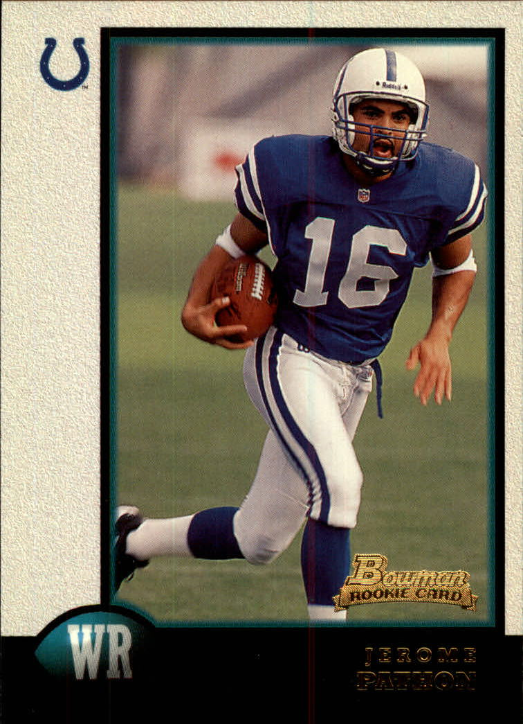 1998 Bowman #9 Jerome Pathon RC