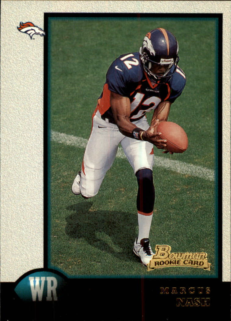 1998 Bowman #17 Marcus Nash RC