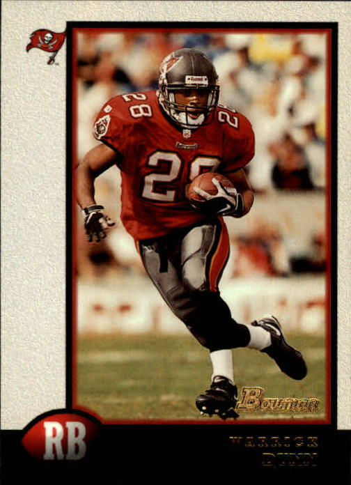 1998 Bowman #90 Warrick Dunn