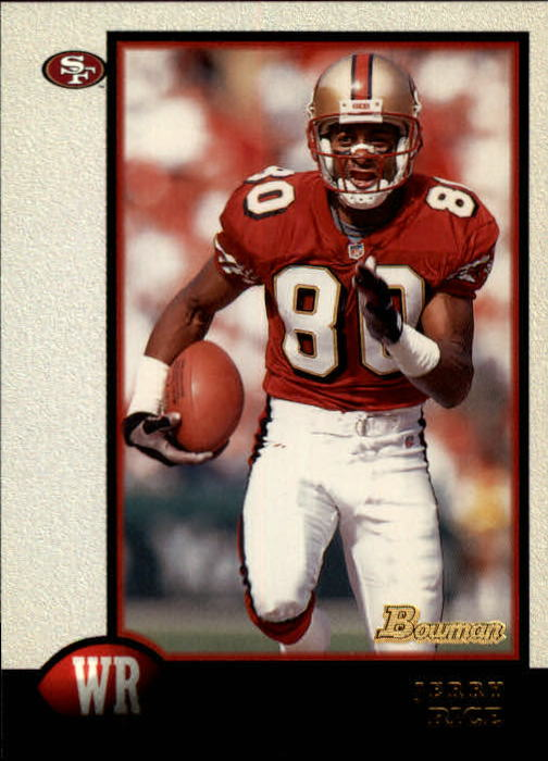 1998 Bowman #110 Jerry Rice