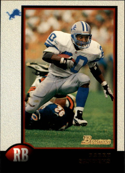 1998 Bowman #120 Barry Sanders