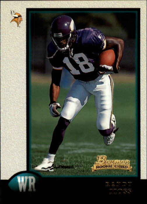 1998 Bowman #182 Randy Moss RC