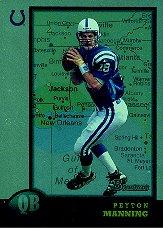 1998 Bowman Interstate #1 Peyton Manning
