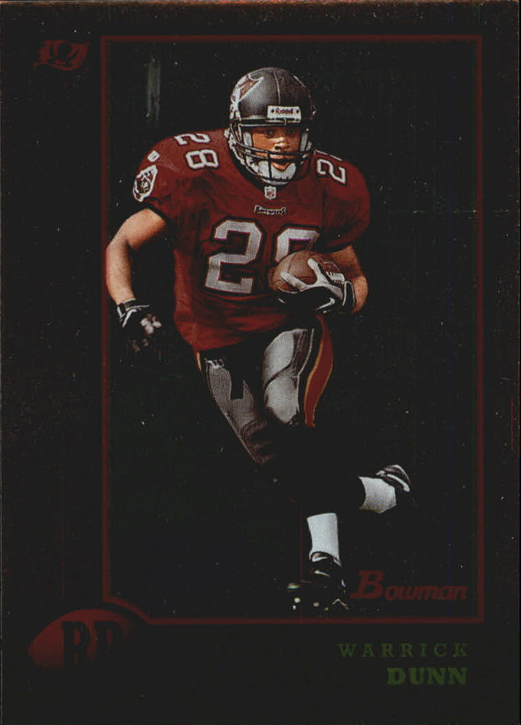 1998 Bowman Interstate #90 Warrick Dunn