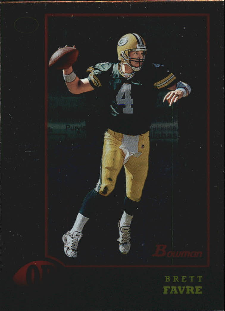 1998 Bowman Interstate #125 Brett Favre