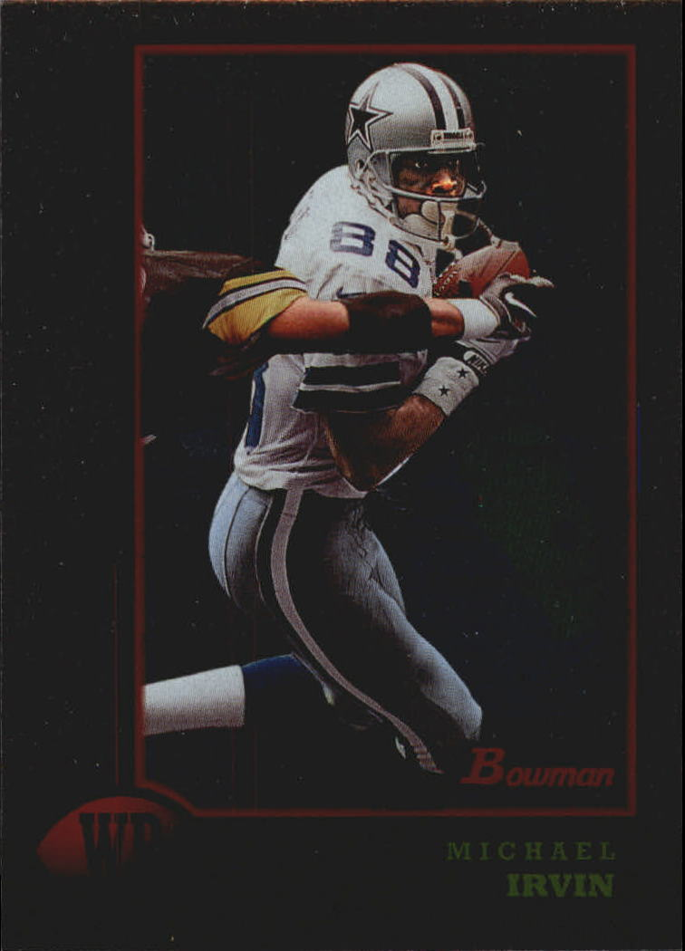 1998 Bowman Interstate #143 Michael Irvin