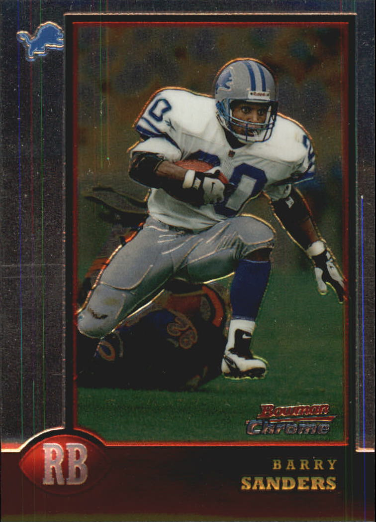 1998 Bowman Chrome Preview #BCP8 Barry Sanders