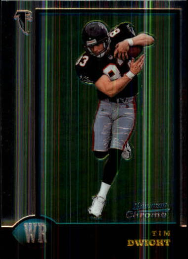 1998 Bowman Chrome #15 Tim Dwight RC