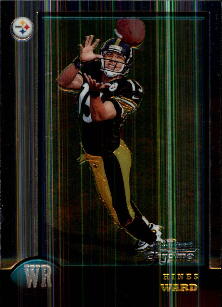 1998 Bowman Chrome #27 Hines Ward RC