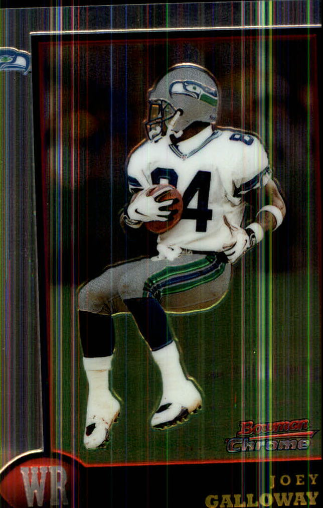 1998 Bowman Chrome #33 Joey Galloway