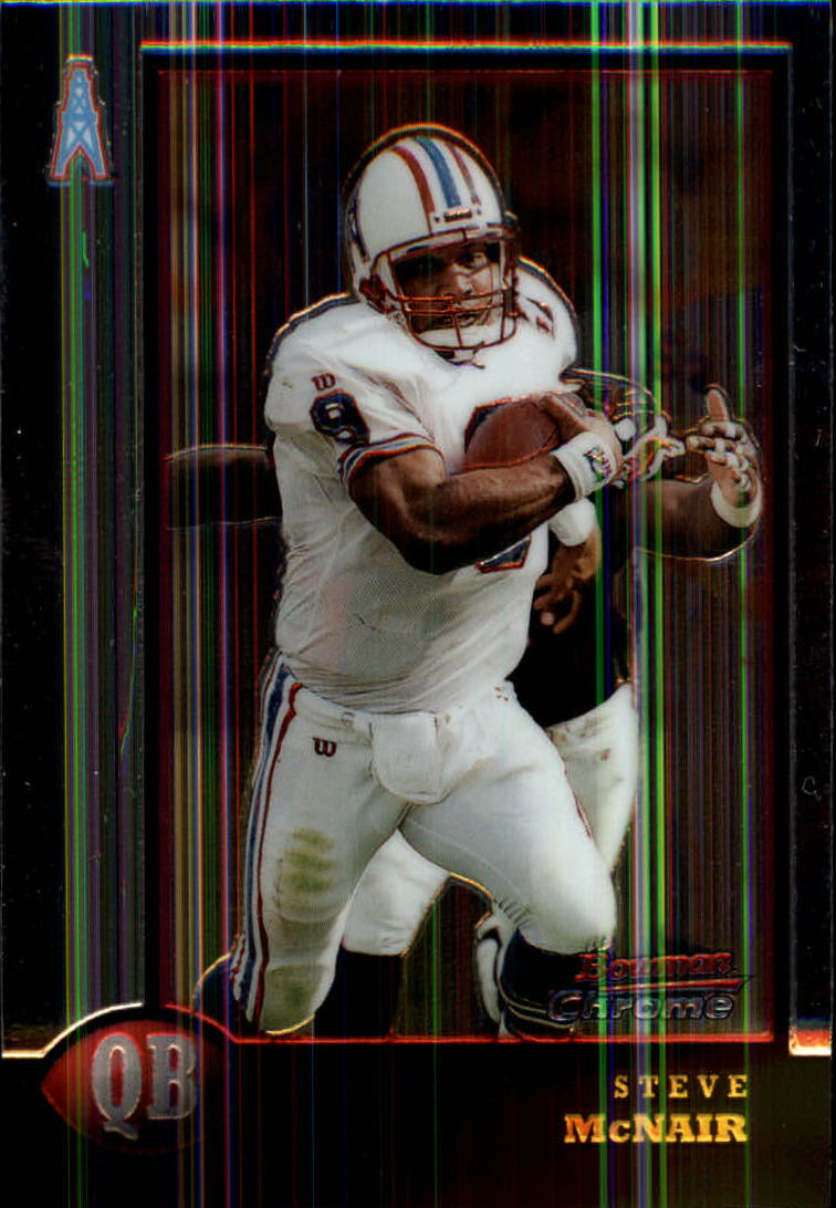 1998 Bowman Chrome #37 Steve McNair