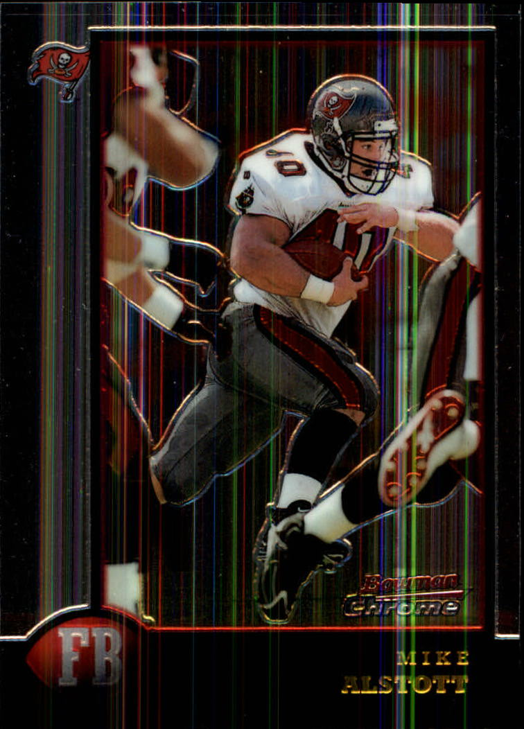 1998 Bowman Chrome #45 Mike Alstott