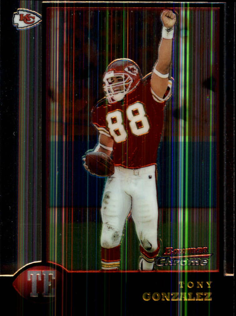 1998 Bowman Chrome #46 Tony Gonzalez
