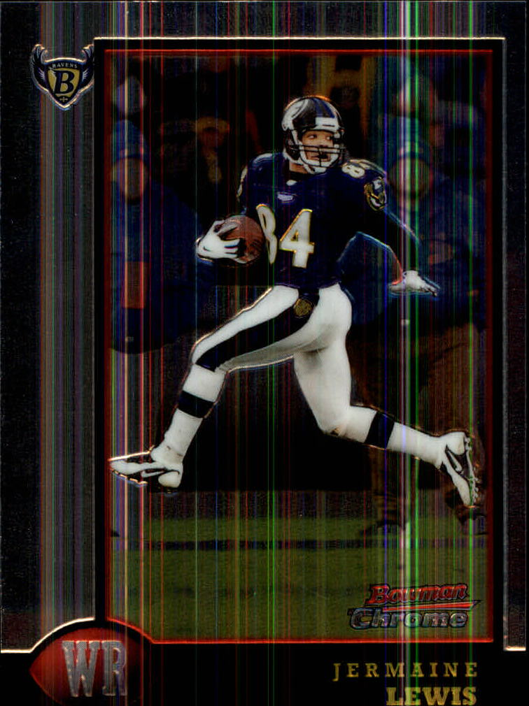 1998 Bowman Chrome #51 Jermaine Lewis
