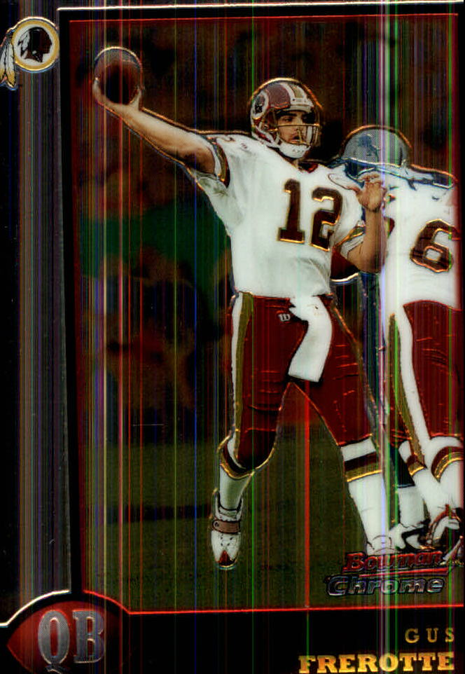 1998 Bowman Chrome #54 Gus Frerotte