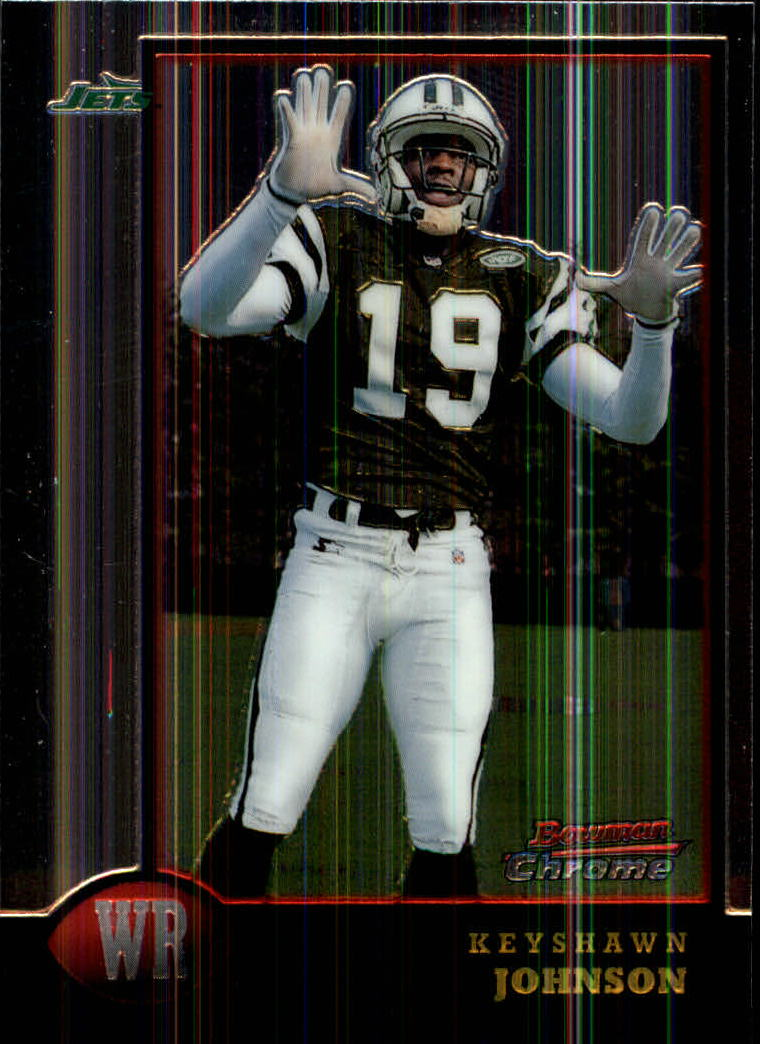 1998 Bowman Chrome #58 Keyshawn Johnson