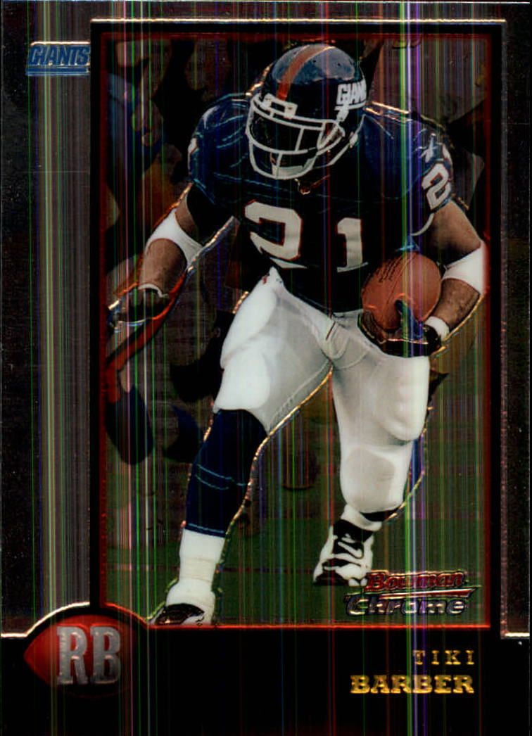 1998 Bowman Chrome #59 Tiki Barber