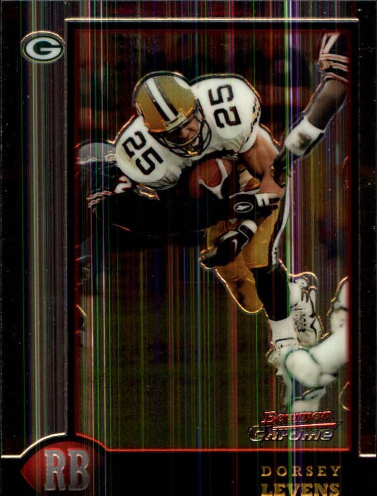 1998 Bowman Chrome #60 Dorsey Levens
