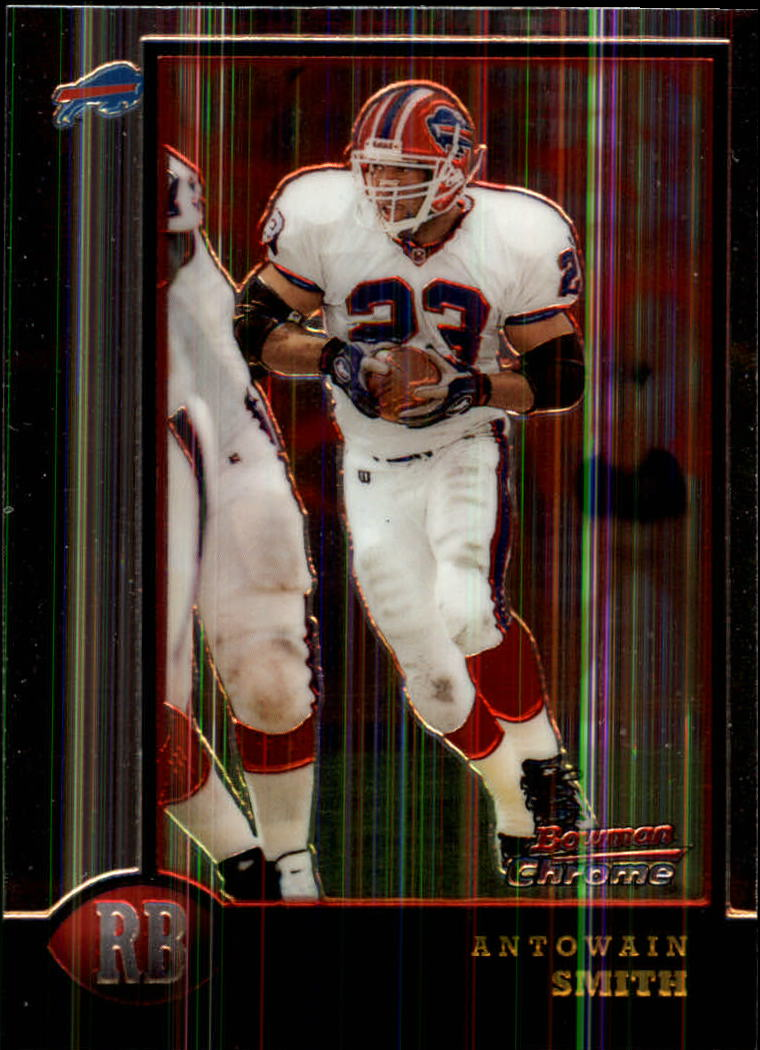 1998 Bowman Chrome #63 Antowain Smith