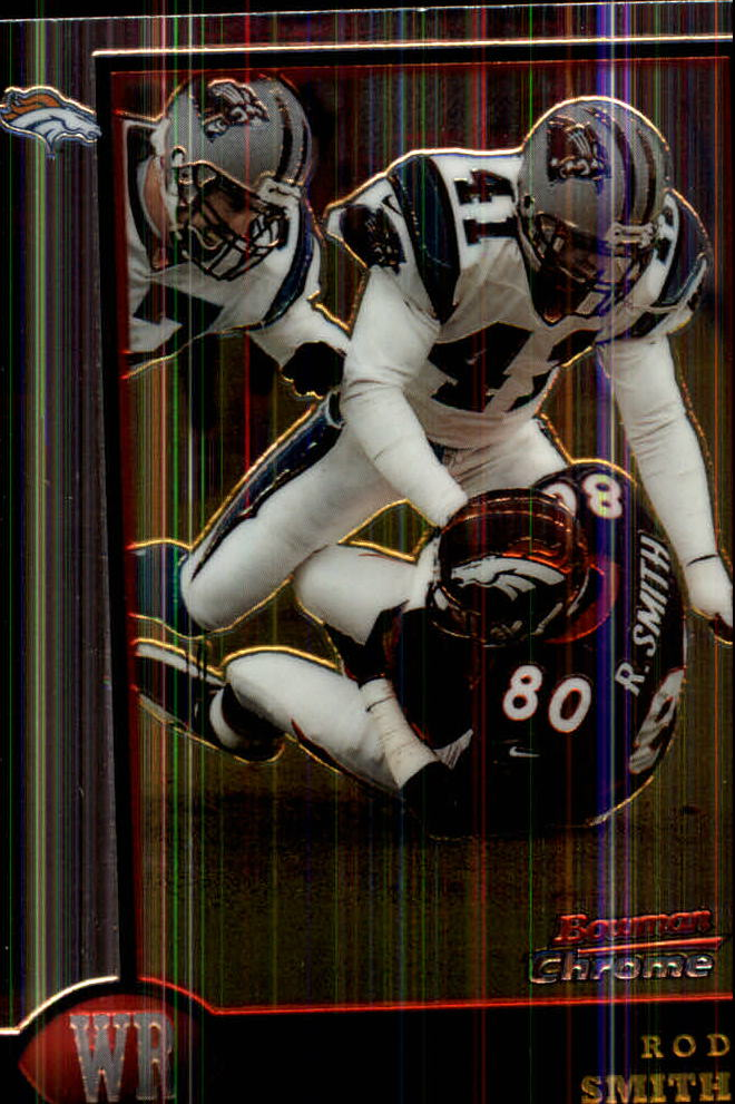 1998 Bowman Chrome #65 Rod Smith