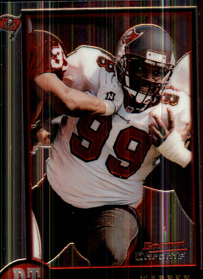 1998 Bowman Chrome #67 Warren Sapp