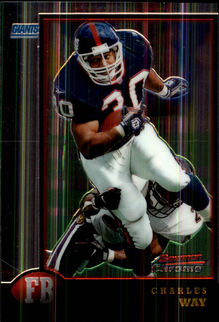 1998 Bowman Chrome #68 Charles Way