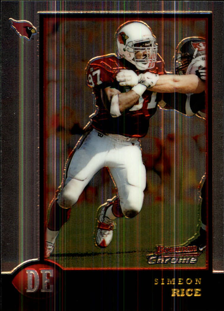 1998 Bowman Chrome #74 Simeon Rice