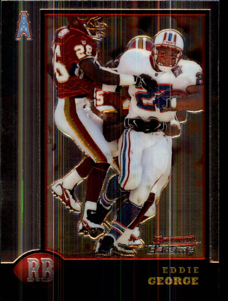 1998 Bowman Chrome #75 Eddie George