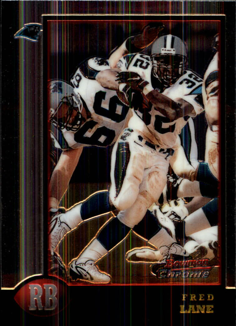 1998 Bowman Chrome #76 Fred Lane