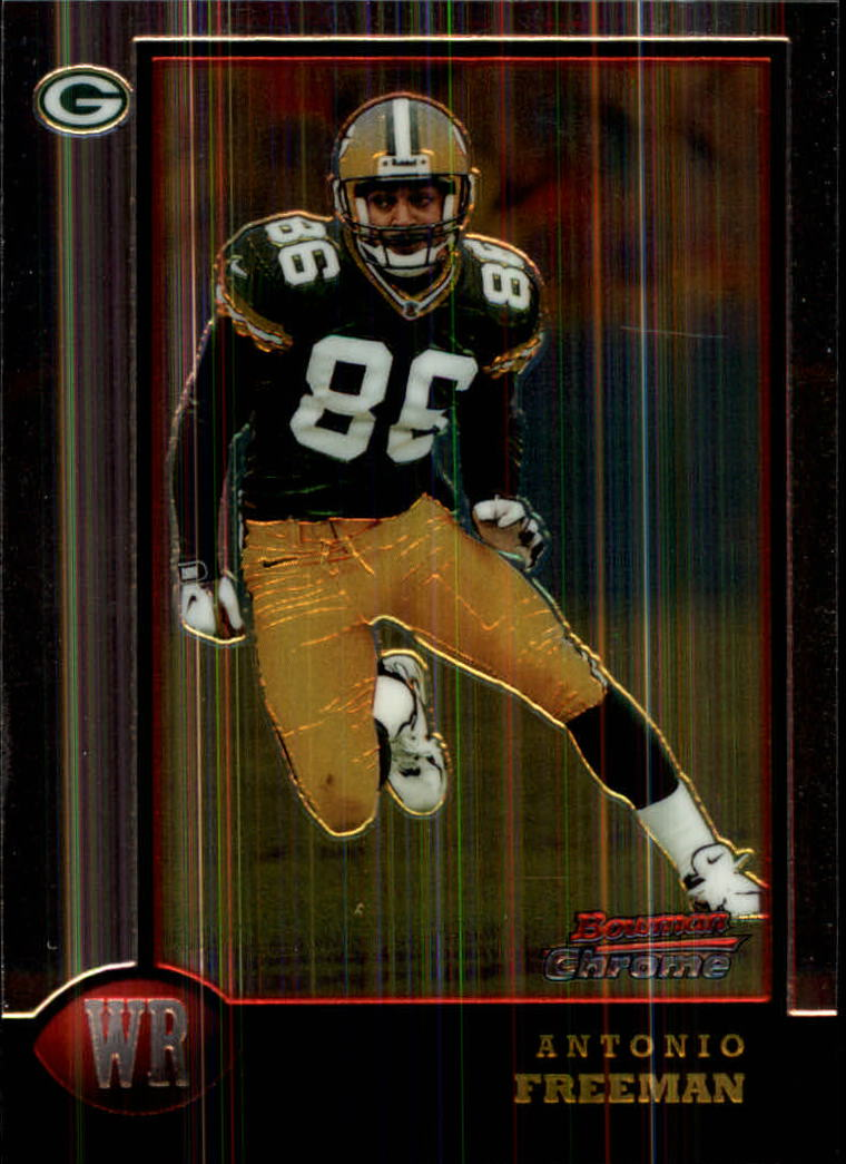 1998 Bowman Chrome #78 Antonio Freeman
