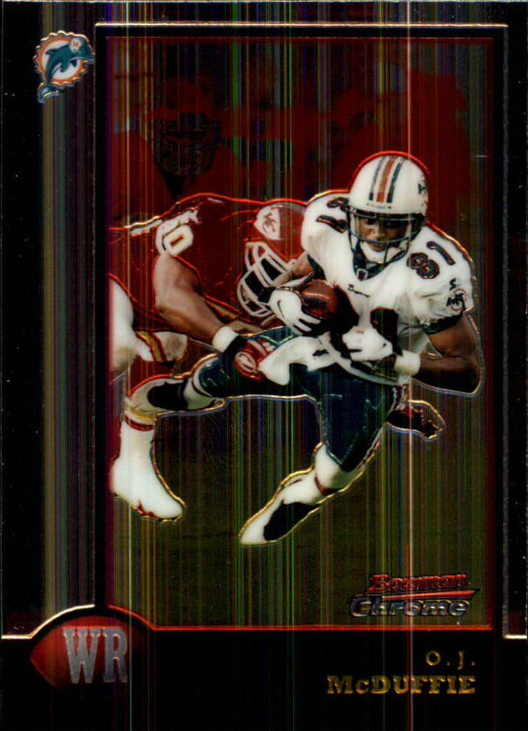 1998 Bowman Chrome #86 O.J. McDuffie