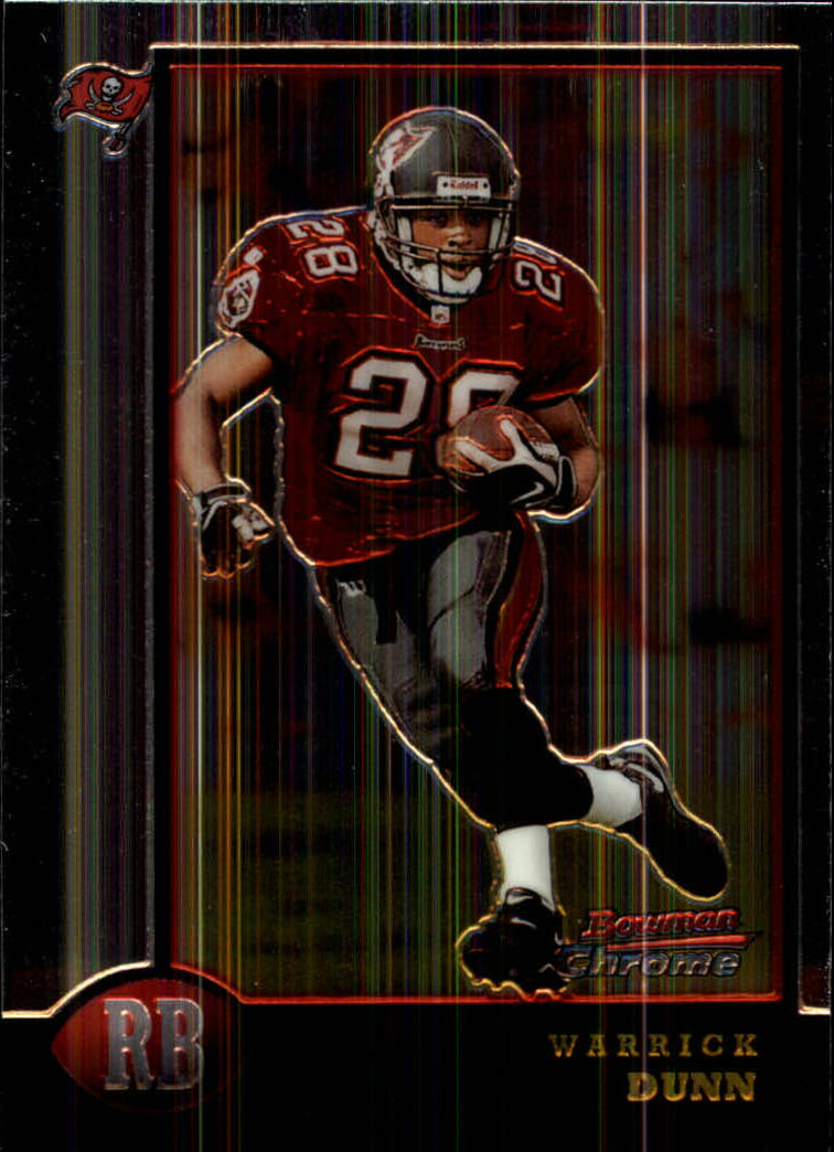 1998 Bowman Chrome #90 Warrick Dunn