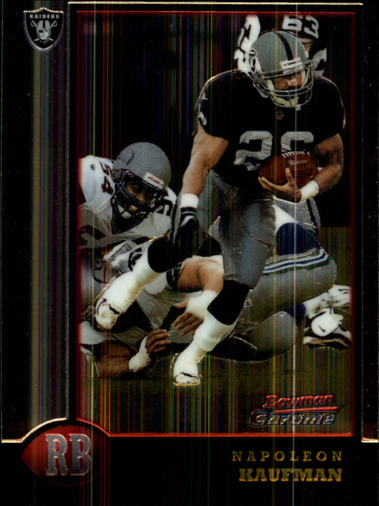 1998 Bowman Chrome #95 Napoleon Kaufman