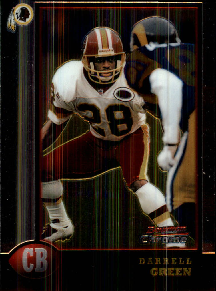 1998 Bowman Chrome #96 Darrell Green