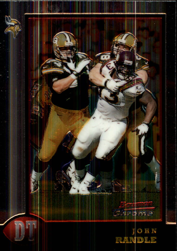 1998 Bowman Chrome #101 John Randle