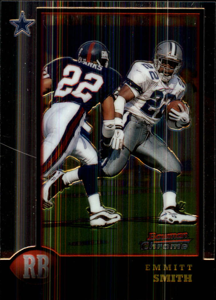1998 Bowman Chrome #105 Emmitt Smith