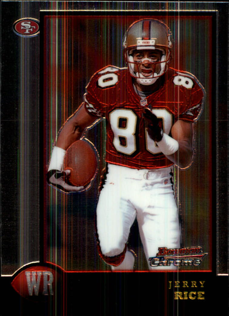 1998 Bowman Chrome #110 Jerry Rice