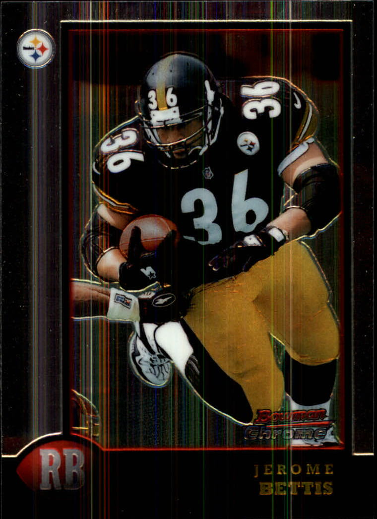 1998 Bowman Chrome #118 Jerome Bettis