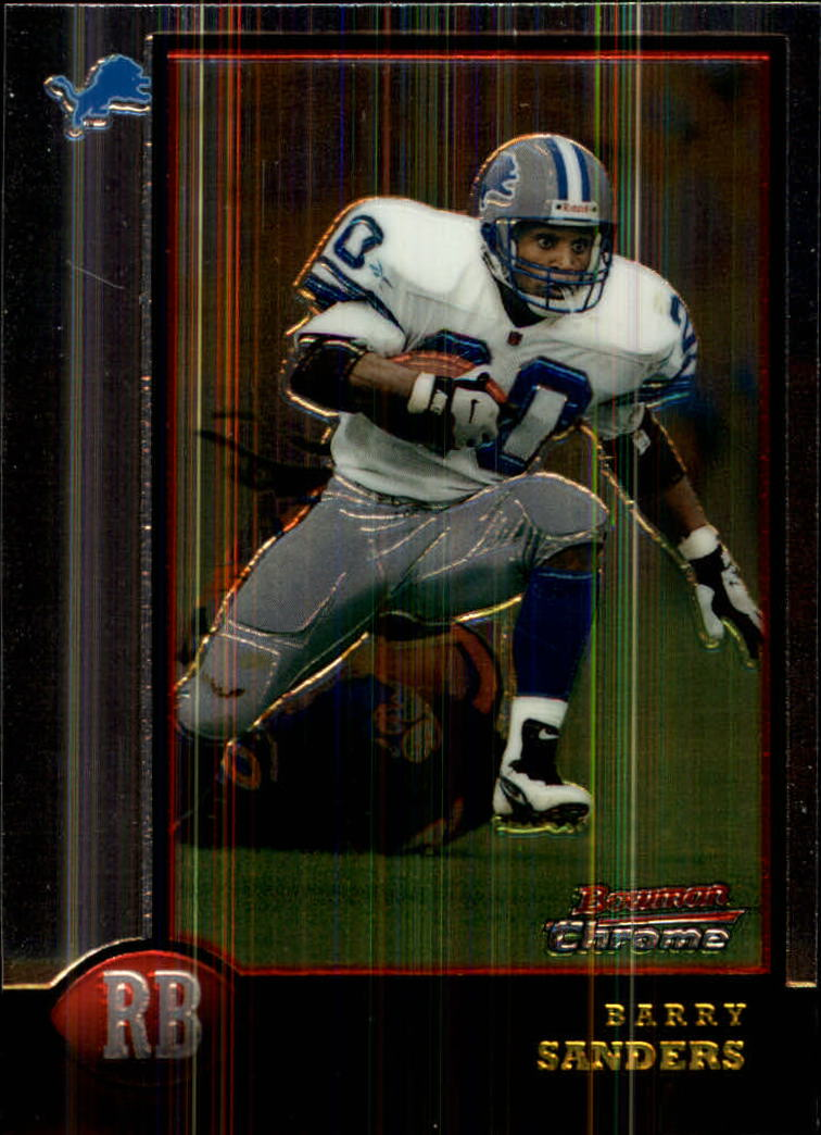 1998 Bowman Chrome #120 Barry Sanders