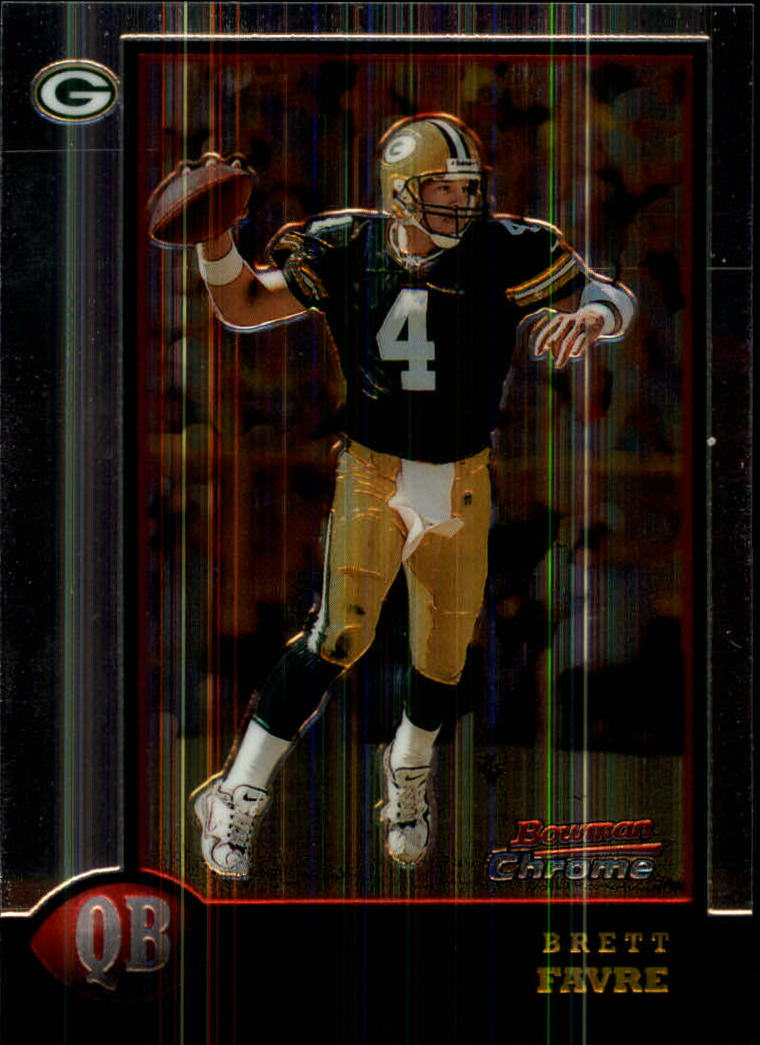 1998 Bowman Chrome #125 Brett Favre