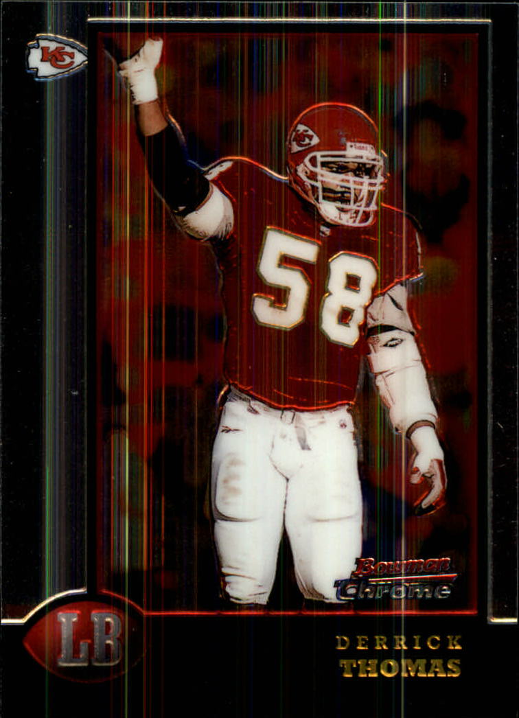 1998 Bowman Chrome #126 Derrick Thomas