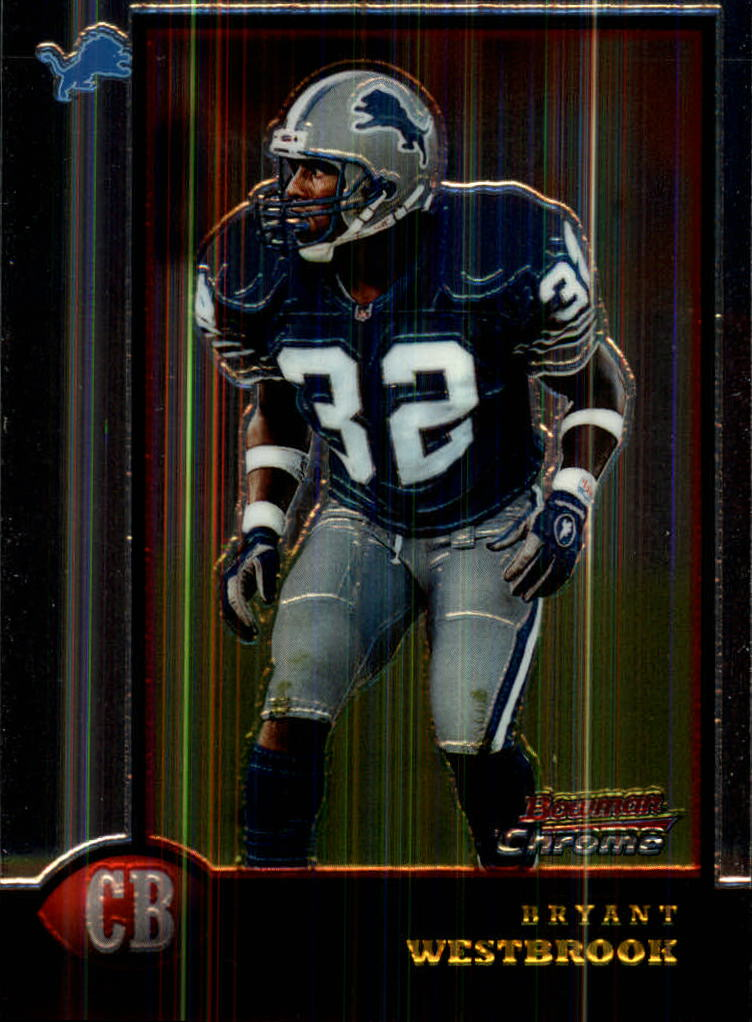 1998 Bowman Chrome #167 Bryant Westbrook