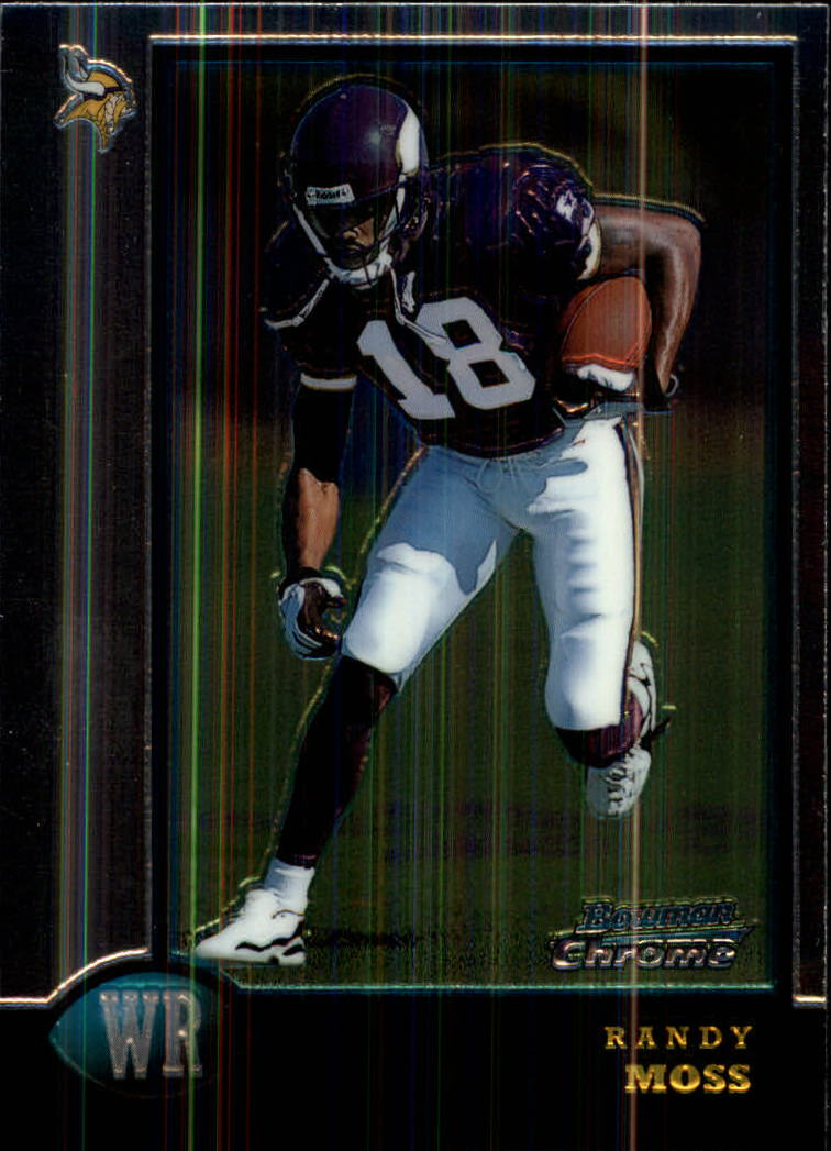 1998 Bowman Chrome #182 Randy Moss RC