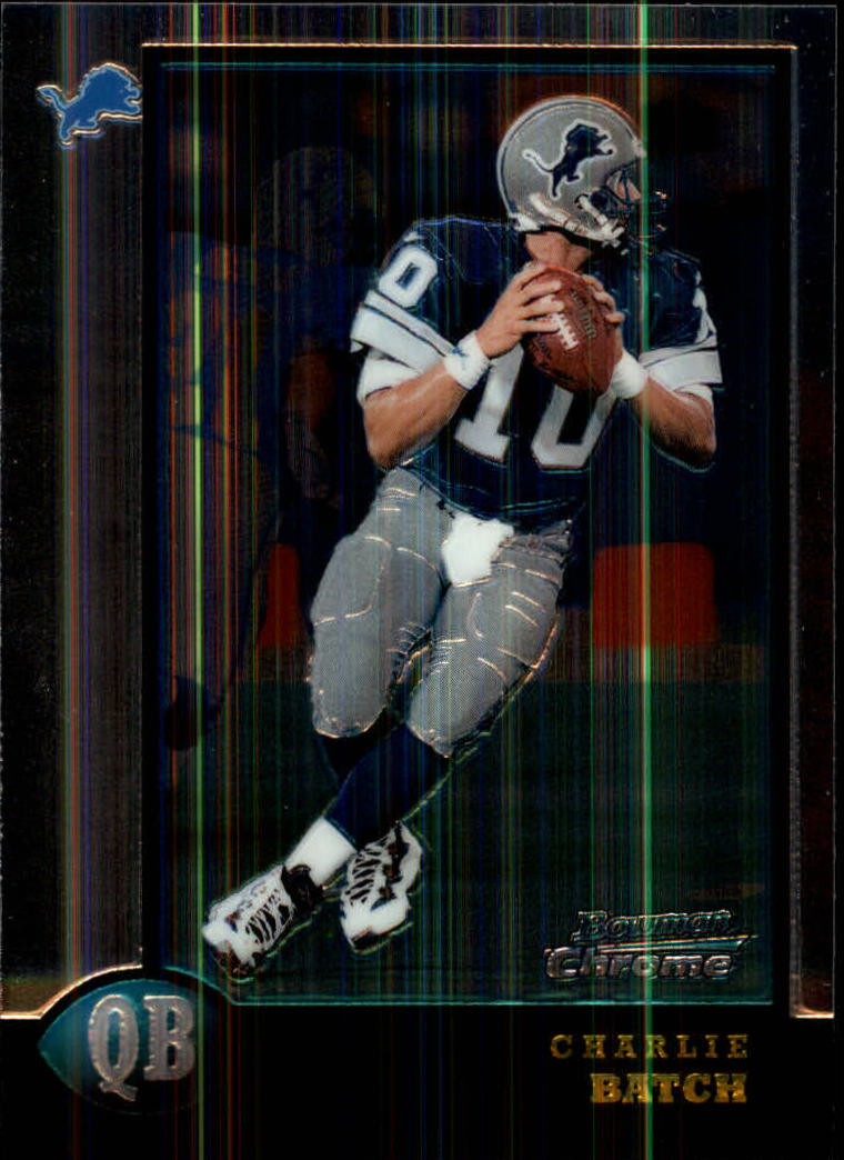 1998 Bowman Chrome #206 Charlie Batch RC