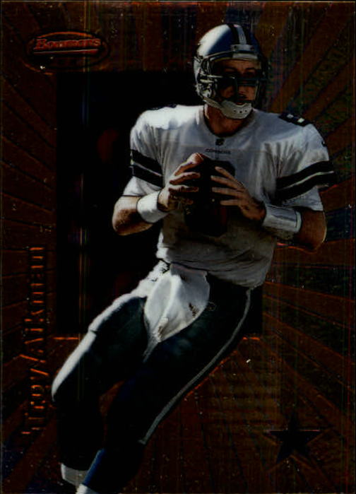 1998 Bowman's Best #62 Troy Aikman