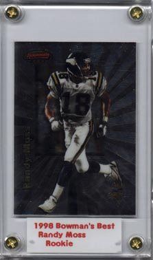 1998 Bowman's Best #109 Randy Moss RC