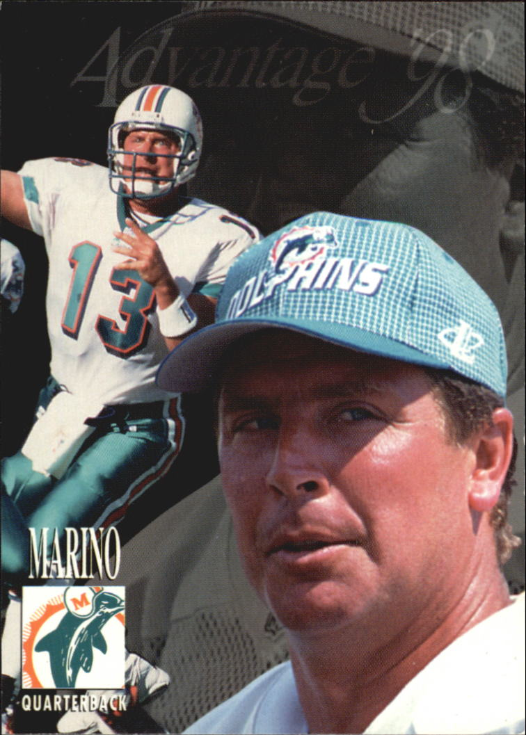 1998 Collector's Edge Advantage #90 Dan Marino