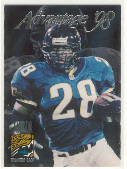 1998 Collector's Edge Advantage #191 Fred Taylor RC