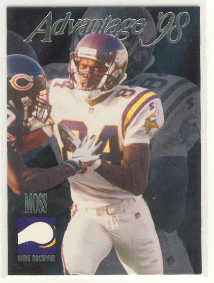 1998 Collector's Edge Advantage #196 Randy Moss RC