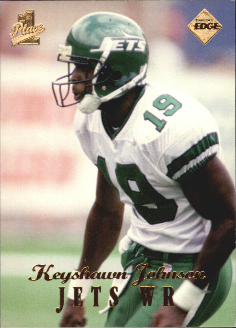 1998 Collector's Edge First Place #111 Keyshawn Johnson